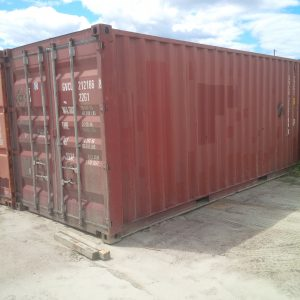 20' Used Overseas Containers